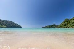Surin ö, Thailand Arkivfoton