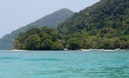 Surin öar på Thailand Royaltyfri Foto