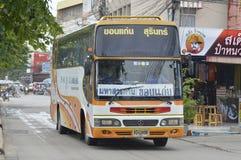 Surin ao carro do ônibus de excursão de Khon Kaen Imagem de Stock Royalty Free