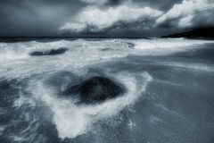 Surin beach in bad weather - 4 Stock Photography