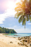 Surin Beach in phuket island Royalty Free Stock Photos