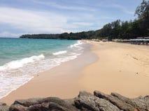 Surin beach, Phuket, Thailand Royalty Free Stock Photos