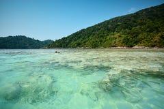 Surin island in Andaman sea, Thailand Stock Photography