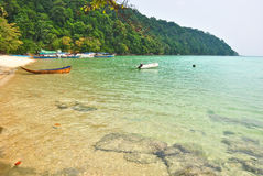 Surin island national park Royalty Free Stock Images