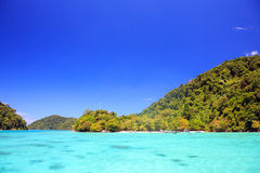 Surin Island national park Thailand Royalty Free Stock Image