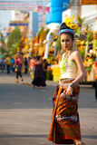 Surin Parade Traditional Dress Fair Female Royalty Free Stock Photos