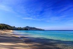 Surin plaża, Phuket, Tajlandia Zdjęcie Royalty Free