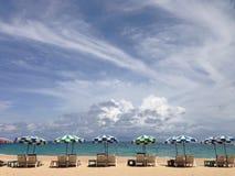Surin strand, Phuket, Thailand Arkivbild