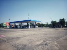 PTT Gas Station Which is the most famous oil company in Thailand royalty free stock images