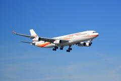Surinam Airways Airbus A340 Fotos de Stock