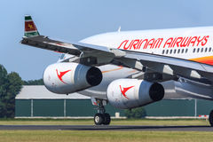 Surinam Airways jet Royalty Free Stock Image