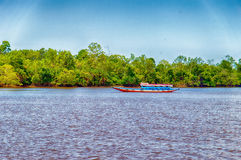 Suriname Boat Royalty Free Stock Images