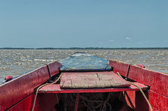 Suriname Fishing Boat Royalty Free Stock Images