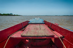 Suriname Fishing Boat Royalty Free Stock Photography