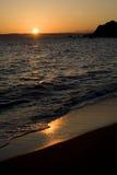 surise пляжа стоковое изображение rf