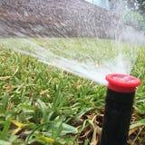 Surja la irrigación Imagen de archivo libre de regalías