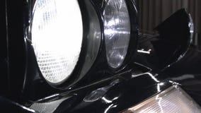 Surja la linterna de Ferrari almacen de metraje de vídeo