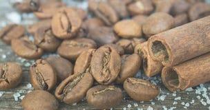 surowa fasoli kawa Groszkowaty produkt gorący napój Fotografia Royalty Free
