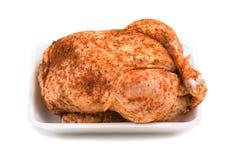 surowa kurczak pudełkowata piana Obrazy Royalty Free