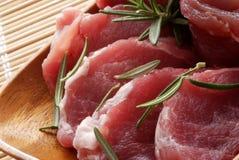 surowa mięsna wieprzowina Obraz Royalty Free