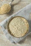 Surowa Organicznie Quinoa mąka zdjęcia stock