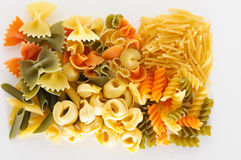 Surowa pasta Obraz Stock