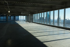 Surowa powierzchnia biurowa przed fitout Fotografia Royalty Free