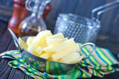 surowa ziemniaka Obraz Royalty Free