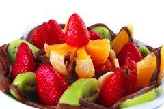 surowe czekoladowe owoc Zdjęcie Stock
