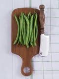 Surowe Francuskie fasole Zdjęcie Stock