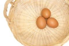 surowe jajka Obrazy Royalty Free