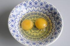 surowe jajka Obraz Royalty Free