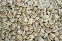 Surowe kawowe fasole sortowali, wysoka jakość kawowych fasoli eksport obcy kraje zdjęcie royalty free