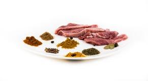 surowe mięso Obraz Royalty Free