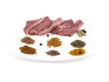surowe mięso Obraz Stock