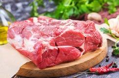 surowe mięso Obrazy Royalty Free