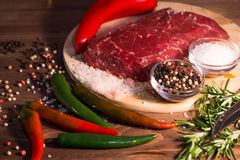 surowe mięso Zdjęcia Royalty Free