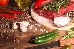 surowe mięso Fotografia Stock