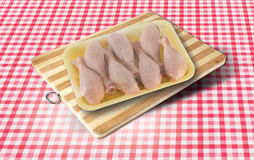 surowe mięso kurczaka Zdjęcia Royalty Free