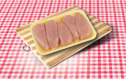 surowe mięso kurczaka Fotografia Stock