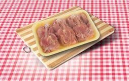 surowe mięso kurczaka Obrazy Stock