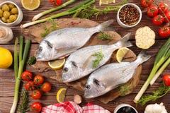 surowe ryby zdjęcie stock