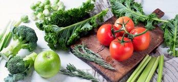 surowe warzywa świeże Obraz Royalty Free