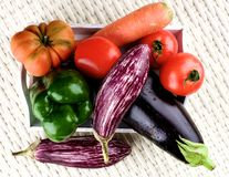 surowe warzywa świeże Fotografia Royalty Free