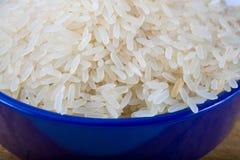 Surowego bielu dłudzy obgotowywający ryż Fotografia Royalty Free