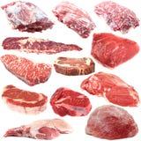 Surowego mięsa kolekcja Zdjęcia Royalty Free
