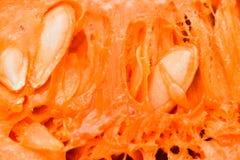 Surowej bani rżnięci makro- szczegóły Obrazy Royalty Free