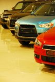 Surowi nowi samochody Obraz Royalty Free