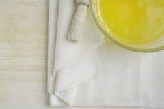 Surowi Phyllo ciasta prześcieradła Zdjęcie Stock