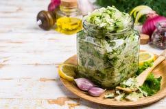 surowi sałatkowi warzywa Zdjęcie Royalty Free